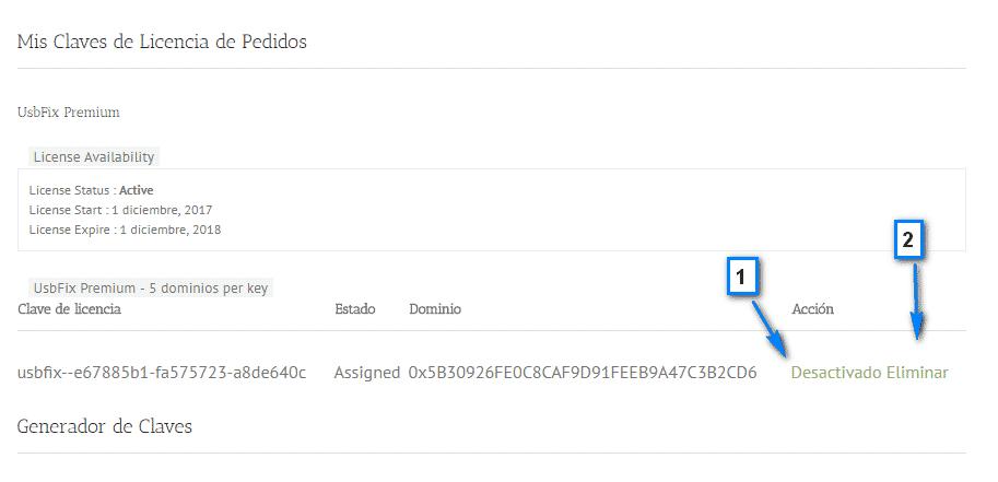 desactivar licencia usbfix