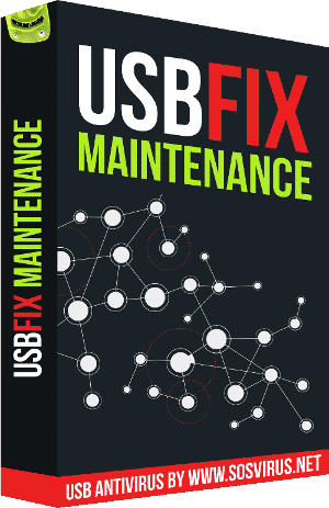 UsbFix Maintenance 2015 Box Produit