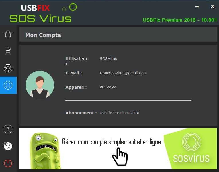 licence active de usbfix premium