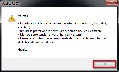 Tutorial UsbFix (Italia) - Eseguire una scansione di unità USB usbfix tutorial official manual italia   Tutorial UsbFix (Italia) - Eseguire una scansione di unità USB usbfix tutorial official manual italia
