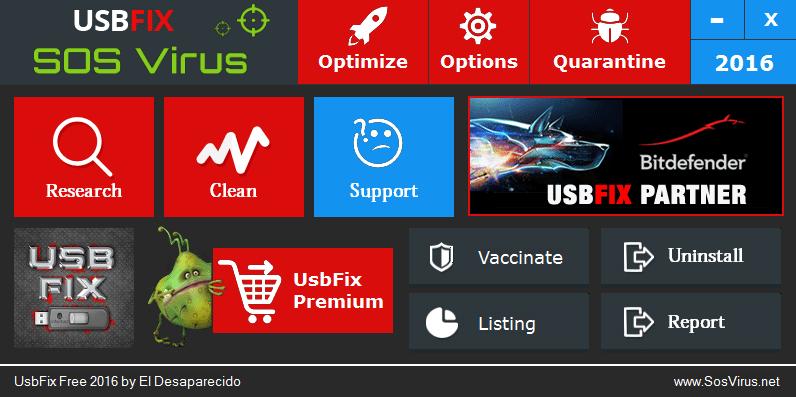UsbFix full screenshot