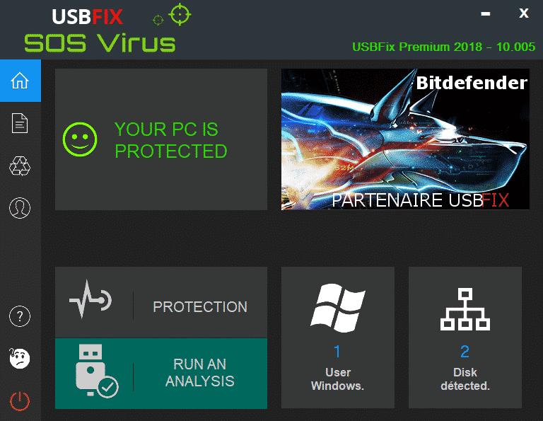 usbfix premium your pc is protected